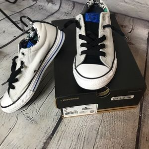 Converse size 3.5 slip on sneakers